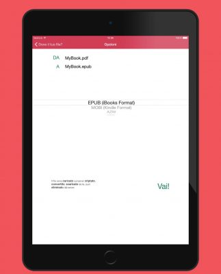 Convertitore eBook per iPad: convertire qualunque documento in un libro iBooks o Kindle!