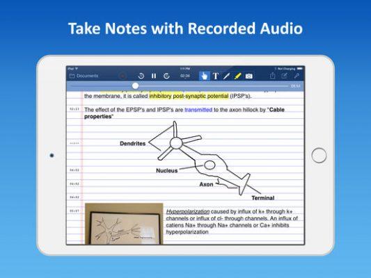 AudioNota per iPad, l'app che ti fa prendere appunti registrando anche l'audio!
